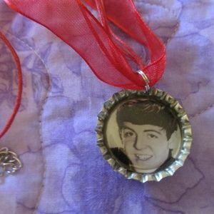 Jewelry - Paul McCartney Beatles Bottle Cap Necklace